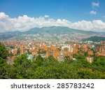 aerial view of buildings and... | Shutterstock . vector #285783242
