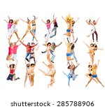 winning idea team achievement  | Shutterstock . vector #285788906