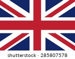uk flag vector | Shutterstock .eps vector #285807578