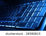 dark blue computer