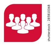 team icon.   Shutterstock .eps vector #285810368