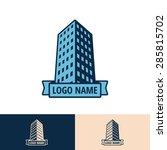 building logo design | Shutterstock .eps vector #285815702