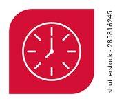 watch icon. | Shutterstock .eps vector #285816245
