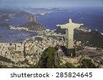 rio de janeiro  brazil   aerial ... | Shutterstock . vector #285824645