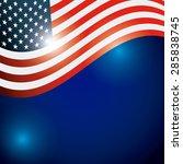 usa symbol design  vector... | Shutterstock .eps vector #285838745