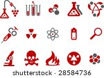 vector icons pack   red series  ... | Shutterstock .eps vector #28584736