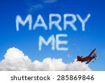Marry Me Message In The Sky