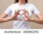 gesture | Shutterstock . vector #285882392