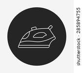 iron line icon | Shutterstock .eps vector #285894755