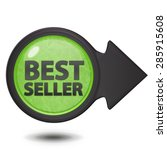best seller circular icon on... | Shutterstock . vector #285915608