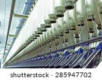 machinery and equipment in a... | Shutterstock . vector #285947702