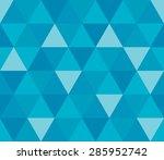 seamless geometric pattern.... | Shutterstock .eps vector #285952742