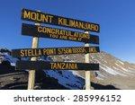 Stella Point On Mount...