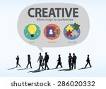 creative innovation vision... | Shutterstock . vector #286020332