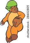 bull character | Shutterstock .eps vector #28602805