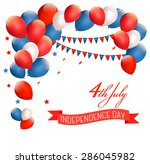 holiday american background... | Shutterstock .eps vector #286045982