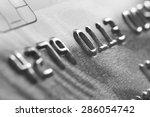 macro old credit card. | Shutterstock . vector #286054742
