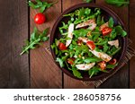 Fresh Salad With Chicken Breas...