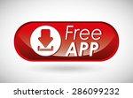 free app design  vector... | Shutterstock .eps vector #286099232