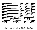 icons weapons | Shutterstock .eps vector #28611664