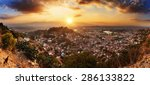 Beautiful Cityscape Panorama O...