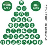 green construction... | Shutterstock .eps vector #286147112