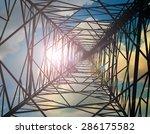 view from inside... | Shutterstock . vector #286175582