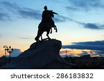 Equestrian Statue Of Peter The...