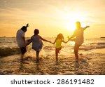 Happy Family Enjoy Summer...