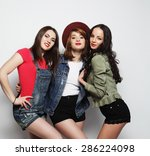 Three Stylish Sexy Hipster...