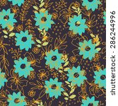 Colorful Batik Seamless Patter...