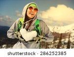 winter sport  snowboarding  ... | Shutterstock . vector #286252385