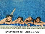 group of children playing in... | Shutterstock . vector #28632739