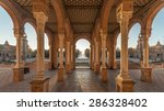 plaza de espana at dusk ... | Shutterstock . vector #286328402