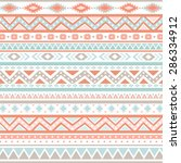 tribal patterns | Shutterstock .eps vector #286334912