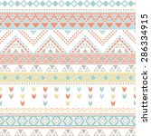tribal patterns | Shutterstock .eps vector #286334915