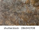 metal plate  corroded  old.... | Shutterstock . vector #286341938