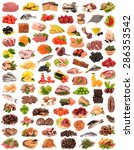 food collection | Shutterstock . vector #286353542