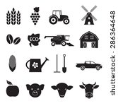 agriculture and farming icon... | Shutterstock . vector #286364648