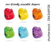 eco friendly washable reusable ...   Shutterstock .eps vector #286368938