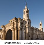 Arequipa  Peru  View Of The...