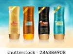 beauty cosmetics  packaging...   Shutterstock .eps vector #286386908