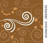coffee and milk | Shutterstock .eps vector #28645633