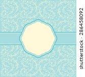 invitation card | Shutterstock .eps vector #286458092