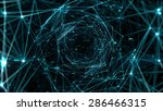abstract space background ... | Shutterstock . vector #286466315