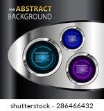 dark purple blue black silver... | Shutterstock .eps vector #286466432