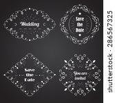 vector design templates for... | Shutterstock .eps vector #286567325