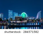 japan at minato mirai bay 2 jun ... | Shutterstock . vector #286571582