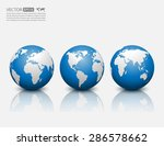 vector globe icon. | Shutterstock .eps vector #286578662