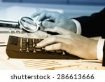 business accounting  | Shutterstock . vector #286613666